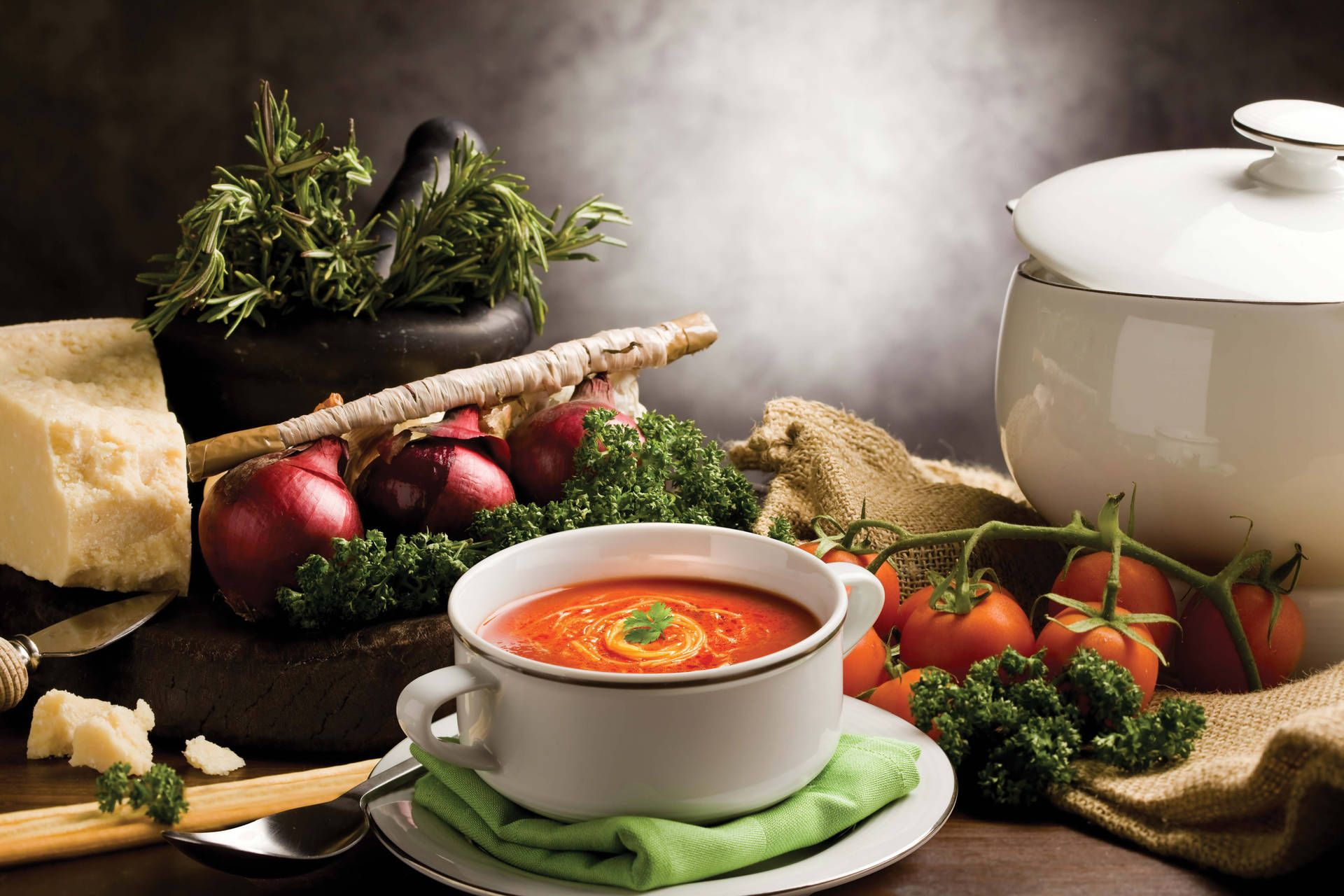 سوپ آماده