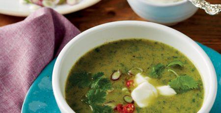 سوپ گشنيز